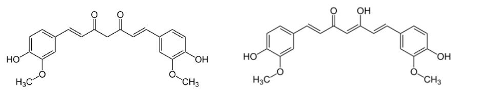 afb1 chemische struktuur curcumin