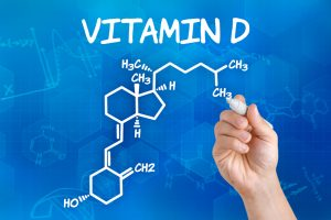 Molekülstruktur von Vitamin D