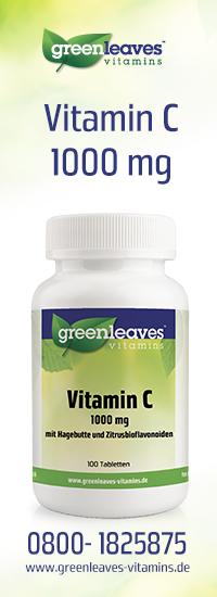 Vitamin C - mit Hagebutte und Zitrusbioflavonoiden