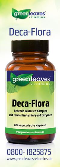 Deca-Flora lebende bakterien-komplex