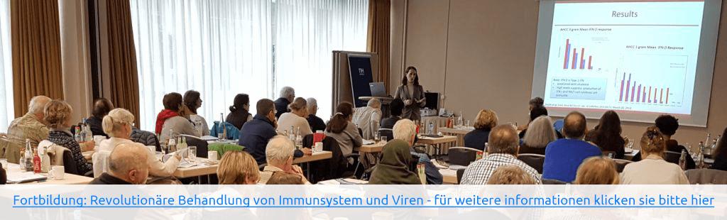 Fortbildung: Revolutionäre Behandlung von Immunsystem und Viren